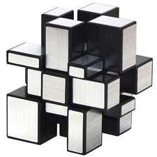 Shengshou Mirror Cube Spiegel Zauberwürfel Schwarz und Silber