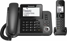 Panasonic Kx-tgf320e 2 In1 Corded DECT Combo Nuisance Call Block Phone