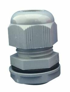 CABLE GLAND M20 GREY 10/PACK - PRO ELEC