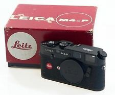 LEICA BLACK M4-P RANGEFINDER 35mm FILM CAMERA BOX LEITZ