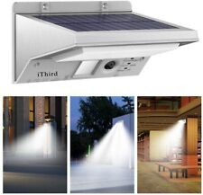 Solar Lights Outdoor Motion Sensor iThird LED Solar Powered Security Lights