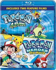 Pokemon - The Movie - 4ever / Heroes Blu-RAY NEW BLU-RAY (MIROPBD2425)