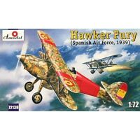 Amodel 72139 - 1/72 Hawker Fury Spanish AF Fighter, scale plastic model kit
