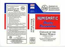 Numismatic Theater Presentation Coinage of the Roman World Robert Hoge VHS Tape