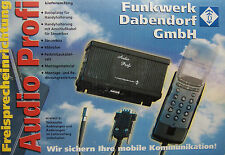 FWD Einbaufreisprechanlage für Sony CMD-CD5