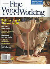 TAUNTON'S FINE WOOD WORKING,  MARCH / APRIL, 2014  ( BUILD A CLASSIC SHAKER TABL