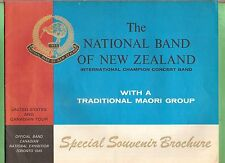#T10.  1965 BOOKLET - NATIONAL BAND OF NEW ZEALAND TOUR USA & CANADA
