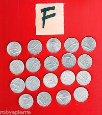19 monete 10 lire repubblica italiana dal 1951 al 1956 dal 1971 al 1985 lotto F