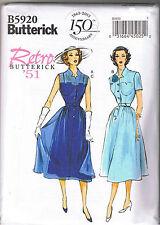 Easy Vintage 50s Retro Sheer Lace Dress Slip Belt Sewing Pattern 14 16 18 20 22
