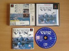 Macross Digital Mission VF-X [2nd] (Playstation1/game/ver. JAP)