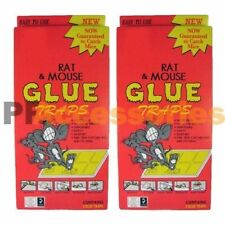 4x EXTRA LARGE Disposable Glue Traps Board for Mice Rats Mouse Super Stick Tray
