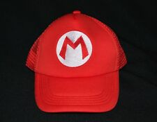 Mario Bros Snapback Hat Cap One Size Fits All