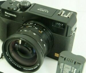 Not working! Camera PANASONIC dmc-lc1 (LEICA DIGILUX 2) - AMAZING LEICA LENS
