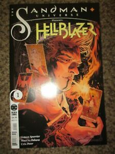 SANDMAN UNIVERSE HELLBLAZER 1 BLACK LABEL ONE SHOT - COMBINED SHIPPING - NM+