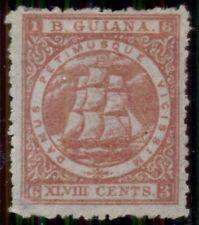 BRITISH GUIANA #66, 48¢ deep red, unused no gum, VF, Scott $425.00