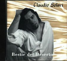 SOLERI CLAUDIO BESTIE DEL DESERTO CD RARO