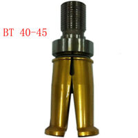 1x High Quality CNC Pull Stud Type Clamp BT40-45 Out Thread Jaw