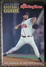 The Sporting News Baseball Guide 1997 Edition with Braves John Smoltz Cover