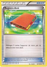 Registre Ami - XY2:Etincelles - 92/106 - Carte Pokemon Neuve Française