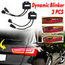 For Audi A6 C7 Avant 4G Semi Dynamic Turn Signal Indicator For LED Taillights