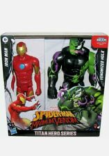 Spider-Man Maximum Venom Series 2-Pack Iron Man vs Venomized Hulk