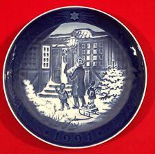 Vintage, Royal Copenhagen Christmas Plate, 1994, Christmas Shopping
