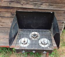 Vintage Portable 3 Burner Propane Stove