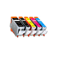 5 PK Replacement Ink Jet Set for PGI-5 CLI-8 Canon MP600 MP800 MP830 MX850 MP530