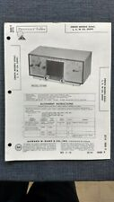 Sams Photofacts Folder Radio Schematics Repair Zenith Model G516C/L/V/W Ch. 5G09