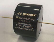 Mundorf mcap Supreme evo plata oro aceite sesgo 1 µf