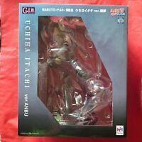 NARUTO Shippuden G.E.M Series Uchiha Itachi Anbu ver. Megahouse Japan NEW Figure