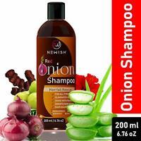 Red Onion Shampoo For Hair Growth and Hairfall Control 200 ml