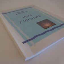 Manuscrit livre artiste Patrick NICOLAS Vers l'Inconnu