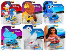 Hot Wheels 2019 Disney Pixar Character Cars Series 4, Set of 6 1/64 Diecast Cars