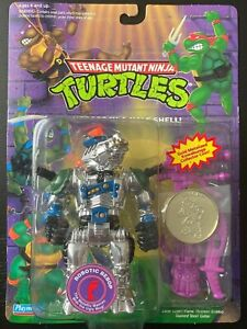 TMNT Robotic Bebop; 1993 with Collector Coin