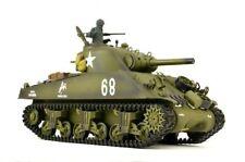 "RC Panzer ""US M4A3 Sherman"" Heng Long 1:16 mit Rauch&Sound+2,4Ghz Pro Modell"