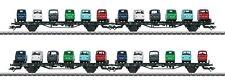 """Märklin 45099 Autotransportwagen-Set der DB - """"GOGGO"""" - NEU in OVP"""