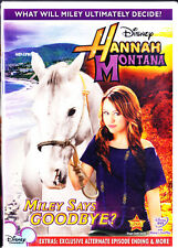 HANNAH MONTANA MILEY SAYS GOODBYE (DVD, 2010) NEW