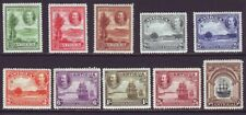 Antigua 1932 SC 67-76 MH Set Tercentenary