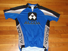 VOLER ALCOA 3/4 ZIP SHORT SLEEVE CLUB RAGLAN CYCLING JERSEY MENS LARGE EXCELLENT