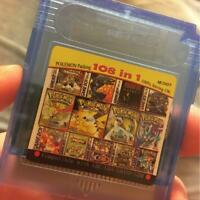 Nintendo 61-108 in1 Video Game Cartridge Console Card For 16 Bit Handheld NEW