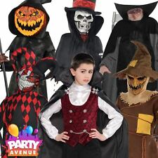 Boys Halloween Fancy Dress Costumes Trick or Treat Vampire Teen Child