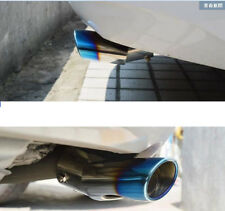 Blue Chrome Rear Exhaust Muffler End Tip Tail Pipe for Toyota Sienna 2011-2018