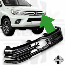 Front Grille Chrome for Toyota Hilux Revo Pickup Invincible