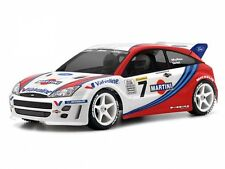 HPI 7412 FORD FOCUS WRC BODY (200MM) [CLEAR 200MM TOURING CAR BODY SHELLS] NEW!