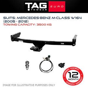 TAG Euro Towbar Fits Mercedes Benz M-Class 2005 - 2012 Towing Capacity 3500Kg 4x