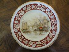Swinnertons Staffordshire Majestic Vellum Plate, The Pool London 1830, No Tax