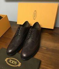$595 +Tax Tod's **current Season** Oxblood Brogue Oxfords 9/10US