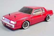 Custom RC 1/10 Drift BUICK REGAL GRAND NATIONAL AWD Belt CAR RTR  W/LED