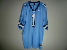 North Carolina TAR HEELS #1 Football Jersey MENS SZ 2XL XXL Nike Blue UNC